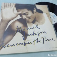 Discos de vinilo: MICHAEL JACKSON - REMEMBER THE TIME - EDICION ESPAÑOLA - EPIC DE 1991 - MUY BUEN ESTADO. Lote 254998830