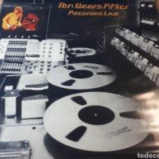 Discos de vinilo: TEN YEARS AFTER RECORDED LIVE DOBLE LP. Lote 254999165