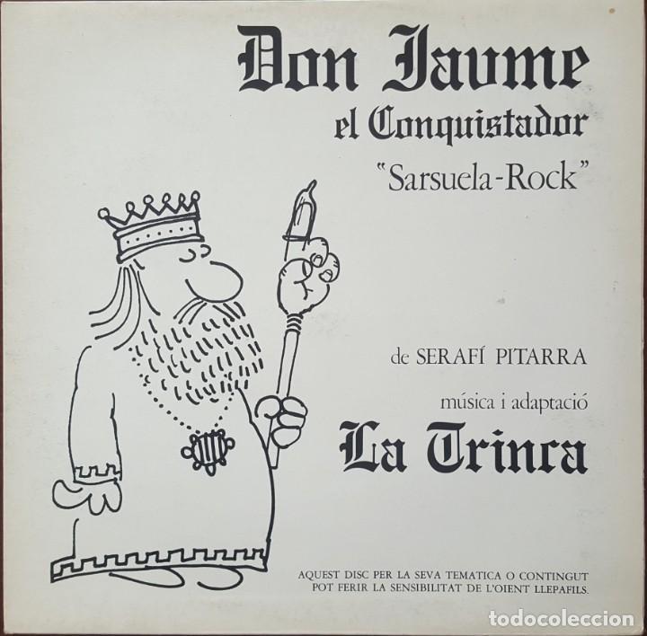 LP / LA TRINCA - DON JAUME EL CONQUISTADOR (SARSUELA ROCK), 1981 (Música - Discos - LP Vinilo - Grupos Españoles de los 70 y 80)