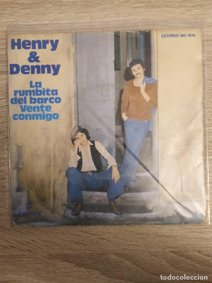 HENRY & DENNY - LA RUMBITA DEL BARCO (Música - Discos - Singles Vinilo - Grupos Españoles de los 70 y 80)