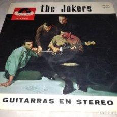 Discos de vinilo: THE JOKERS-GUITARRAS EN STEREO-ORIGINAL ESPAÑOL 1963. Lote 255000570