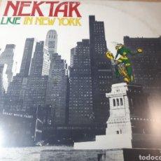 Discos de vinilo: NEKTAR LIVE IN NEW YORK DOBLE LP. Lote 255000610