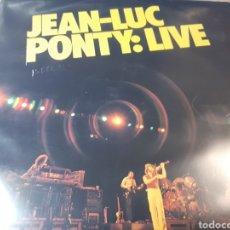 Discos de vinilo: JEAN LUC PONTY LIVE. Lote 255000755