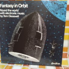 Discos de vinilo: TOM DISSEVELT–FANTASY IN ORBIT . LP VINILO PRECINTADO. ELECTRONIC MUSIC 1963. REEDICIÓN. Lote 255001265