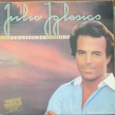 Discos de vinilo: LP DOBLE 2 VINILOS / JULIO IGLESIAS - 24 EXITOS DE ORO, 1979. Lote 255001540