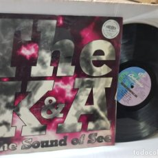Discos de vinilo: MAXI SINGLE 33 -THE K&A-THE SOUND OF SEE EN FUNDA ORIGINAL AÑO 1995. Lote 255002805