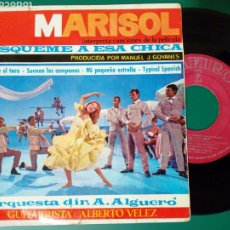 Discos de vinilo: EP: MARISOL - LA LUNA Y EL TORO + MI PEQUEÑA ESTRELLA + 2 (ZAFIRO, 1964) - BUSQUEME A ESA CHICA -. Lote 255004715