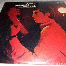 Discos de vinilo: JOAN MANUEL SERRAT-ORIGINAL AÑO 1967-CONTIENE ENCARTE-SU PRIMER LP. Lote 255005305