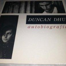 Discos de vinilo: DUNCAN DHU-AUTOBIOGRAFIA-DOBLE LP-CONTIENE LOS ENCARTES. Lote 255006500