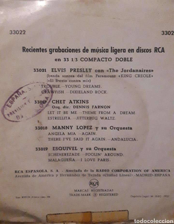 Discos de vinilo: Elvis Presley King creole año 61 - Foto 2 - 255018155