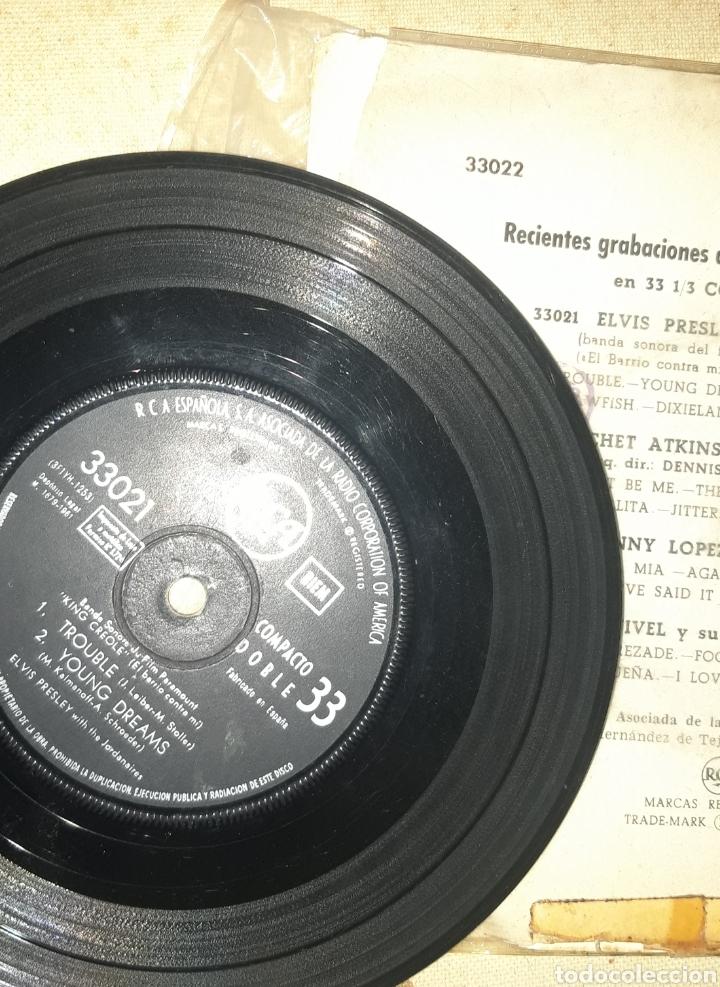 Discos de vinilo: Elvis Presley King creole año 61 - Foto 4 - 255018155