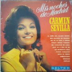 Discos de vinilo: LP / CARMEN SEVILLA - MIS NOCHES DE MADRID, 1969. Lote 255025160