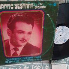 Discos de vinilo: LP (VINILO) DE JUANITO SEGARRA Y SU ORQUESTA AÑOS 70. Lote 255321365