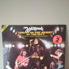 Discos de vinilo: WHITESNAKE EN 2 LP'S - LIVE IN THE HEART OF THE CITY.. Lote 255337180