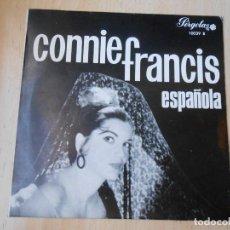 Discos de vinilo: CONNIE FRANCIS - ESPAÑOLA -, EP, TODO EL AMOR DEL MUNDO + 3 , AÑO 1965. Lote 255338730