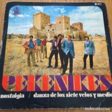 Discos de vinilo: LOS PEKENIKES NOSTALGIA SINGLE HISPAVOX AÑO 1968. Lote 255339015