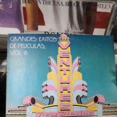 Discos de vinilo: GRANDES ÉXITOS DE PELÍCULAS VOLUMEN 6 THE VENTURES. Lote 255339080