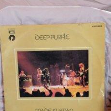 Discos de vinilo: DEEP PURPLE 'LIVE IN JAPAN' EMI 1976. Lote 255339525