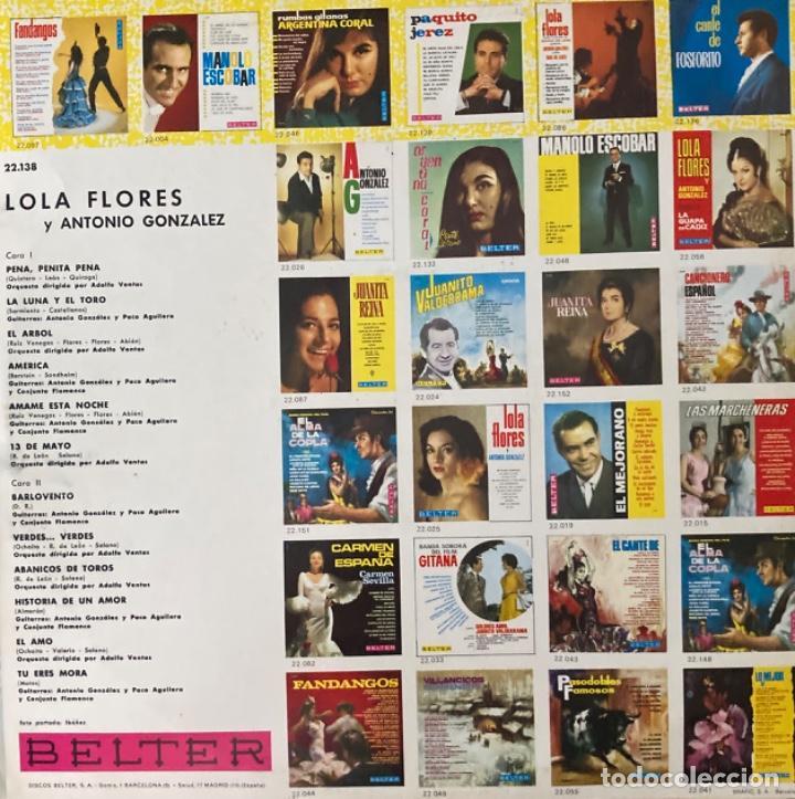 Discos de vinilo: Lola Flores - Foto 2 - 255341360