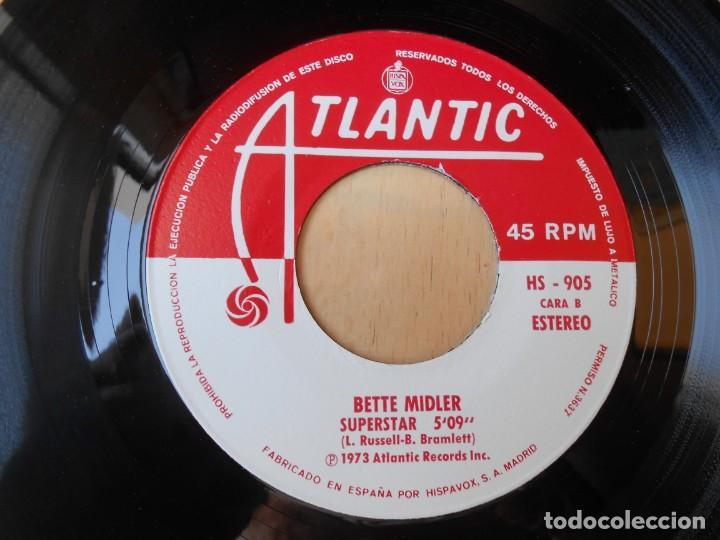 Discos de vinilo: BETTE MIDLER, SG, ¿QUIERES BAILAR? (DO YOU WANT TO DANCE) + 1 , AÑO 1972 - Foto 4 - 255343455