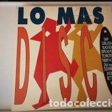 Discos de vinilo: DISCO DOBLE LP- LO MÁS DISC- AÑO 1990. Lote 255344670