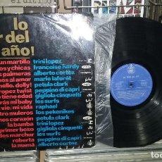 Discos de vinilo: LO MEJOR DEL AÑO. HISPAVOX 1964, REF.HX 001-01 -- LP. Lote 255344850