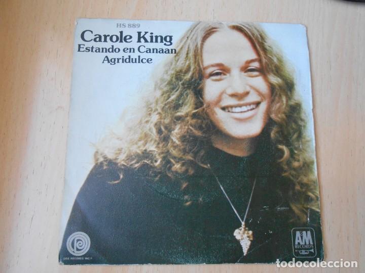 CAROLE KING, SG, ESTANDO EN CANAAN (BEEN TO CANAAN) + 1 , AÑO 1972 (Música - Discos - Singles Vinilo - Pop - Rock - Internacional de los 70)