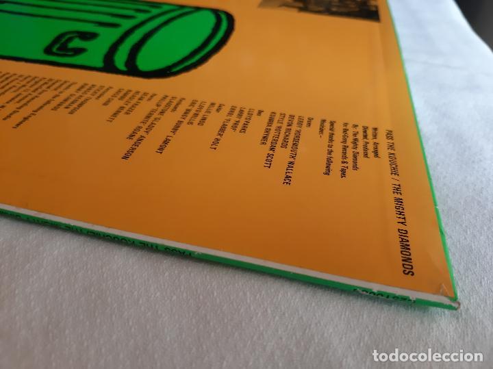 Discos de vinilo: THE MIGHTY DIAMONDS -PASS THE KOUCHIE- (1984) LP DISCO VINILO - Foto 7 - 255349060