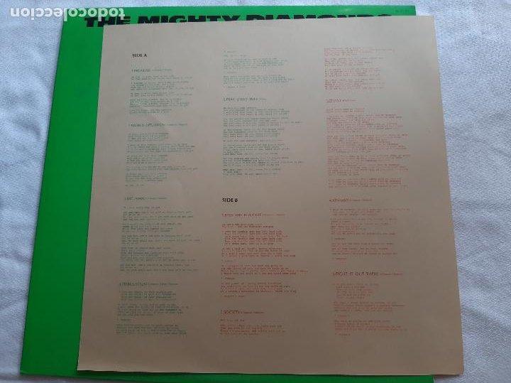 Discos de vinilo: THE MIGHTY DIAMONDS -PASS THE KOUCHIE- (1984) LP DISCO VINILO - Foto 9 - 255349060