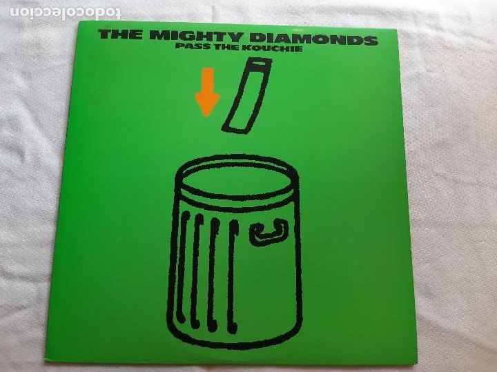 THE MIGHTY DIAMONDS -PASS THE KOUCHIE- (1984) LP DISCO VINILO (Música - Discos - LP Vinilo - Reggae - Ska)