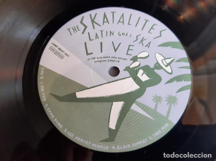 Discos de vinilo: THE SKATALITES -LATIN GOES SKA LIVE- (1983) LP DISCO VINILO - Foto 3 - 255356640