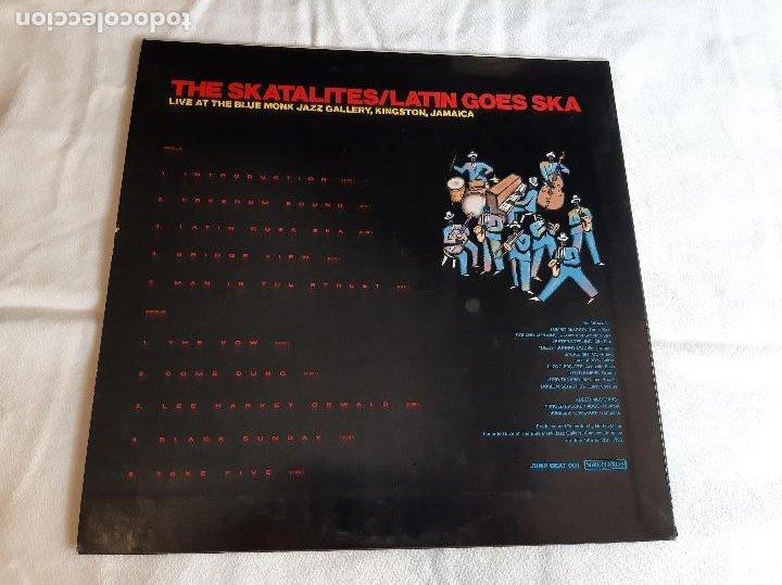 Discos de vinilo: THE SKATALITES -LATIN GOES SKA LIVE- (1983) LP DISCO VINILO - Foto 8 - 255356640