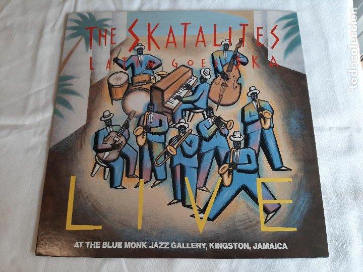 THE SKATALITES -LATIN GOES SKA LIVE- (1983) LP DISCO VINILO (Música - Discos - LP Vinilo - Reggae - Ska)
