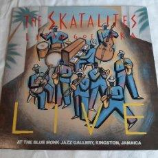 Discos de vinilo: THE SKATALITES -LATIN GOES SKA LIVE- (1983) LP DISCO VINILO. Lote 255356640