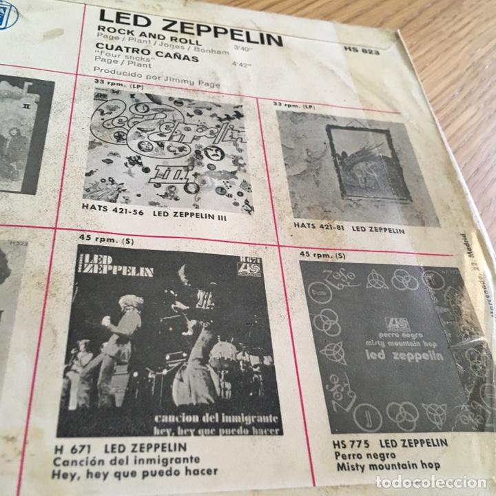 Discos de vinilo: LED ZEPPELIN ROCK AND ROLL ( SOLO PORTADA ) SIN DISCO BASTANTE USO - Foto 3 - 255357275