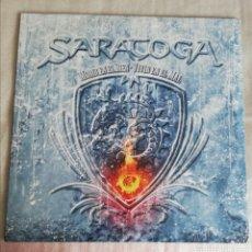 Discos de vinilo: DISCO VINILO SARATOGA-MORIR EN EL BIEN, VIVIR EN EL MAL.. Lote 255367830