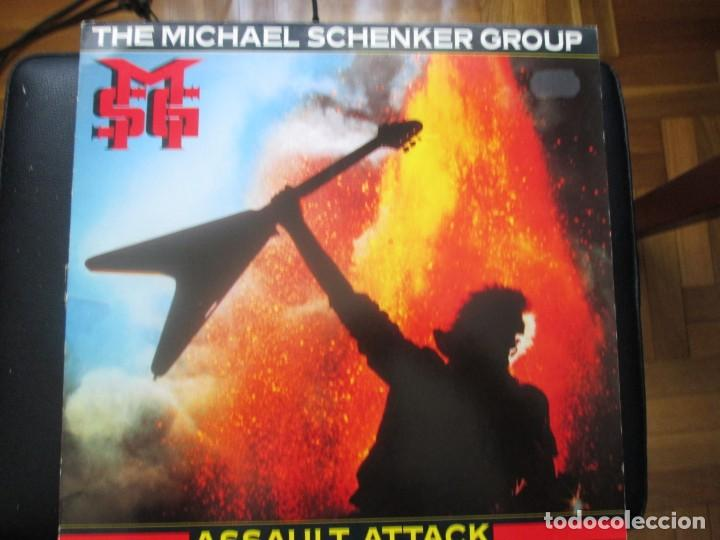 Discos de vinilo: The Michael Schenker Group. Assault Attack. (LP) (1982) - Foto 1 - 255374510