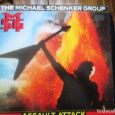 Discos de vinilo: THE MICHAEL SCHENKER GROUP. ASSAULT ATTACK. (LP) (1982). Lote 255374510