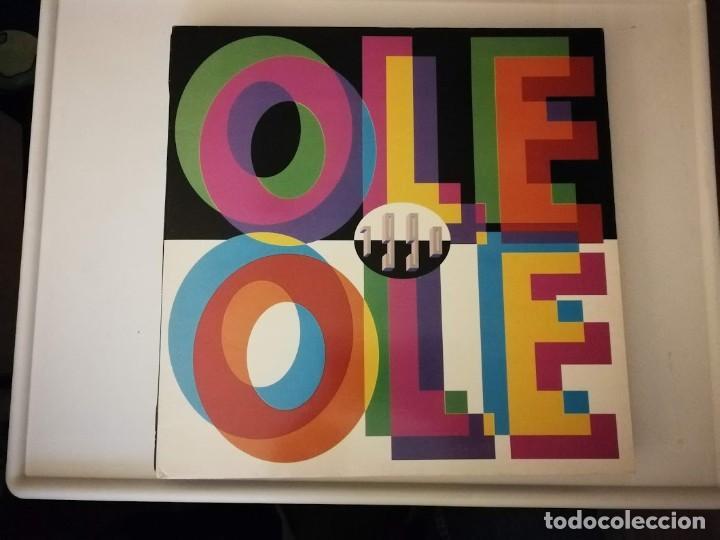 LP-OLE OLE- - AÑO 1990- (Música - Discos - LP Vinilo - Grupos Españoles de los 90 a la actualidad)