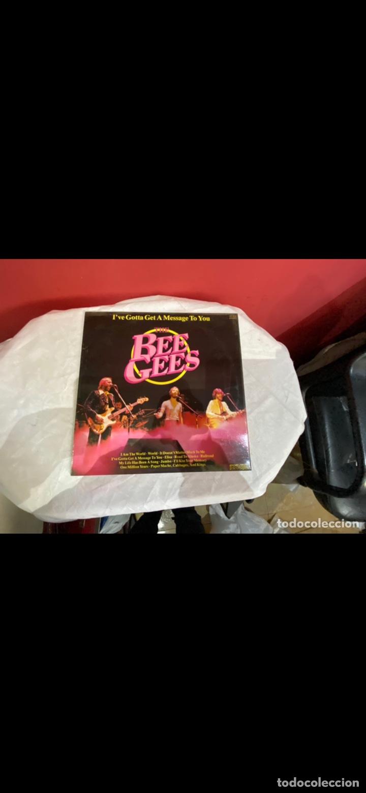 Discos de vinilo: Lote 6 discos de música grandes Bee Gees . Ver fotos - Foto 2 - 255378835