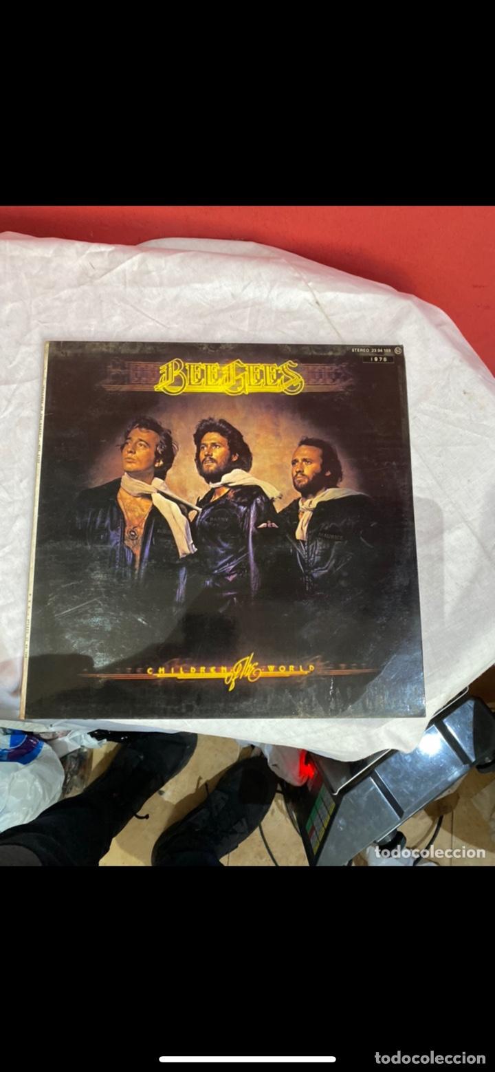 Discos de vinilo: Lote 6 discos de música grandes Bee Gees . Ver fotos - Foto 9 - 255378835