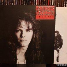 Discos de vinilo: ANDY TAYLOR - THUNDER. Lote 255383380