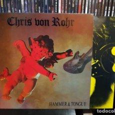 Discos de vinilo: CHRIS VON ROHR - HAMMER & TONGUE. Lote 255383640