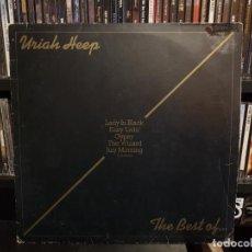 Discos de vinilo: URIAH HEEP - THE BEST OF.... Lote 255384560