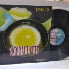 Discos de vinilo: MAXI SINGLE 45 -LEVEL 10-RADIOACTIVITED EN FUNDA ORIGINAL AÑO 1994. Lote 255384995