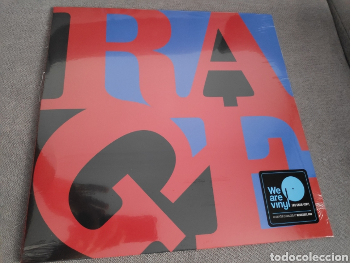 ÁLBUM LP DISCO VINILO RAGE AGAINST THE MACHINE RENEGADES NUEVO (Música - Discos - LP Vinilo - Heavy - Metal)