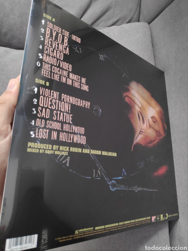 Discos de vinilo: Álbum lp disco vinilo System of a down Mezmerize nuevo - Foto 2 - 255387050