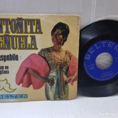 Discos de vinilo: SINGLE-ANTOÑITA PEÑUELA-LA ESPABILA EN FUNDA ORIGINAL 1969. Lote 255392885