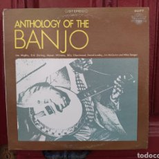 Discos de vinilo: ANTHOLOGY OF THE BANJO. LP VINILO ANTIGUA EDICIÓN USA.. Lote 255393770