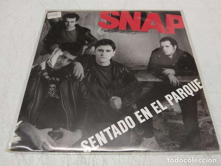 SNAP - SENTADO EN EL PARQUE -SINGLE- (Música - Discos - Singles Vinilo - Punk - Hard Core)